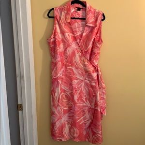 Plise size women's dress
